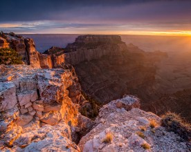 Clearing Storm - Cape Royal - Grand Canyon NP, AZ © jj raia