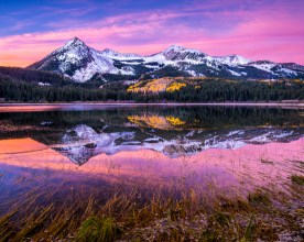 Early Dawn at Lost Lake - West Elk Wilderness, CO © jj raia