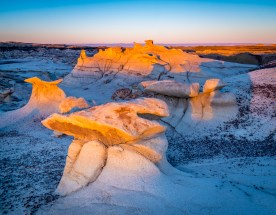 Early Light, Bisti Badlands, NM