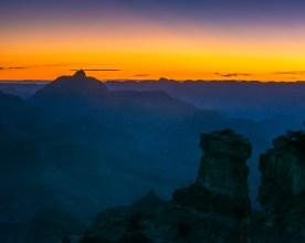 First Light from Yaki Point - Grand Canyon NP, AZ © jj raia