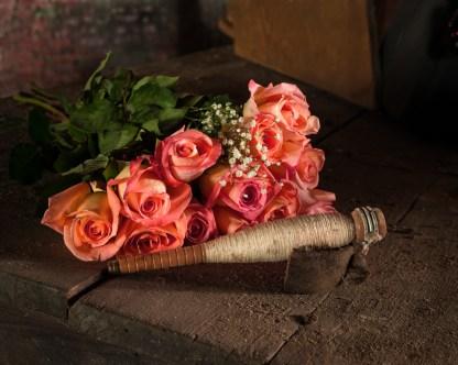 Roses No.1 - Abandoned Textile Mille — © jj raia