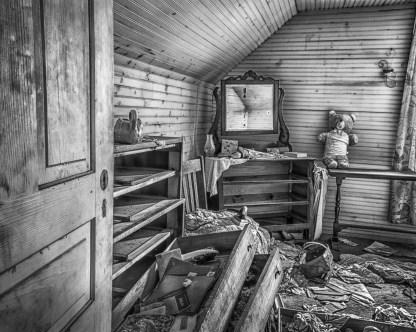 Upstairs Bedroom - Abandoned Home — © jj raia