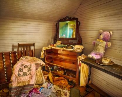 Teddy Bear Room - Abandoned Home — © jj raia