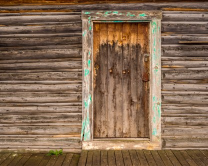 Doorway, Mormon Barn — Grand Teton, © jj raia