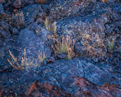 Lava Flow Detail — Craters of the Moon © jj raia