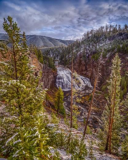 Gibbon Falls HDR — Yellowstone © jj raia