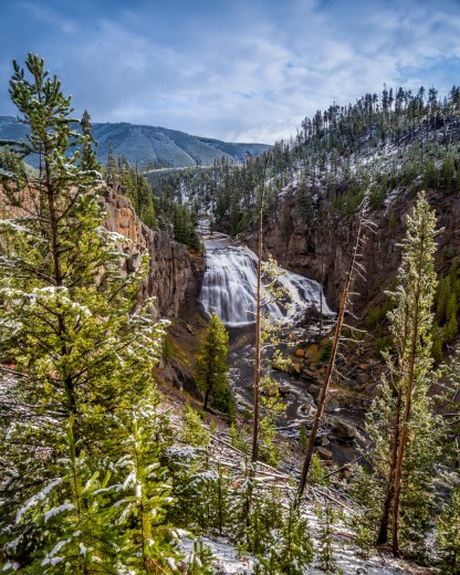 Gibbon Falls — Yellowstone © jj raia