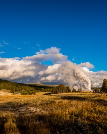 Old Faithful — Yellowstone NP, WY © jj raia