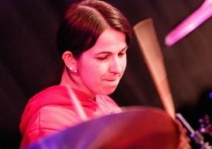 Melanie Albrecht in Aktion