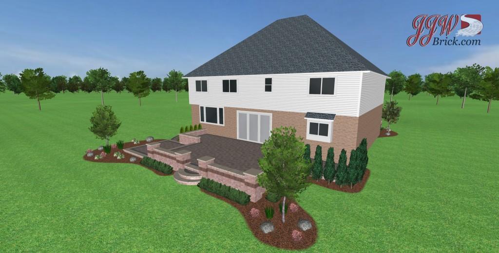 landscaping brick paving companies landscaper macomb paver patio landscape design shelby twp