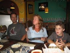 Jeff, Donna and Brady