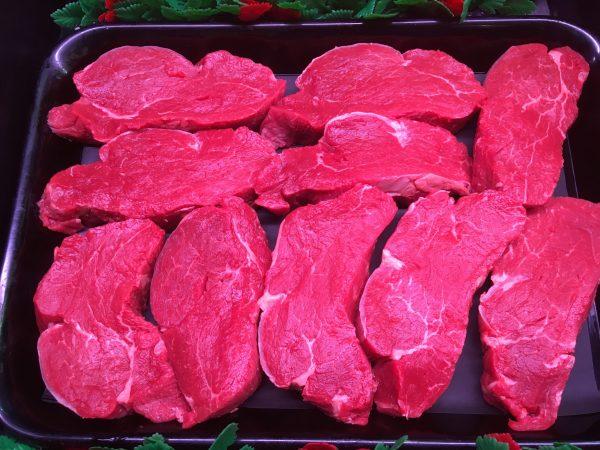 Prime Irish beef black angus fillet steak