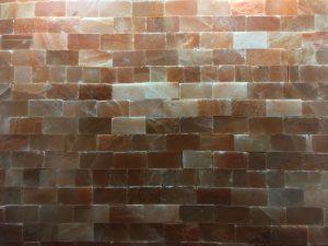 Himalayan salt wall