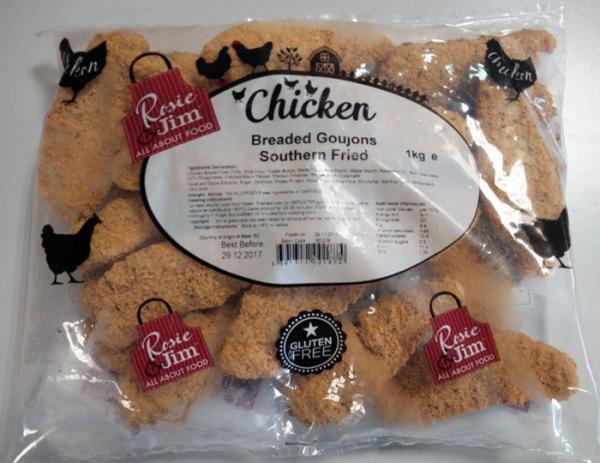Southern Fried Chicken Goujons