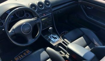 Audi A4 3,0 V6 Cabriolet full