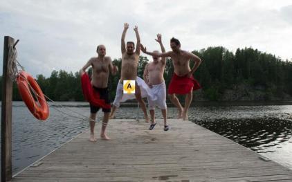 SaunaJump