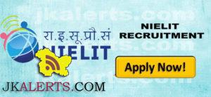 NIELIT Srinagar Jobs Recruitment 2021.