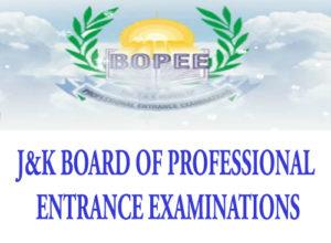 JKBOPEE, JKBOPEE Notification, JKBOPEE updates, JKBOPEE M.Sc. Nursing Provisional Select List, JKBOPEE M.Sc Provisional Select List, J&K BOPEE M.Sc Provisional Selection list, Jammu and Kashmir Board of Professional Entrance Examinations Provisional Selection list,