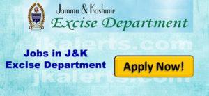 jobs in j&K excise department