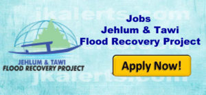 jobs in jhelum and tawi flood recovery project