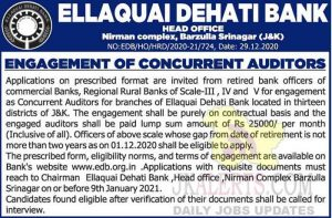 Ellaquai Dehati Bank Jobs Recruitment 2021.