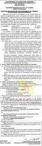 JK HUDD Jobs Recruitment 2021.