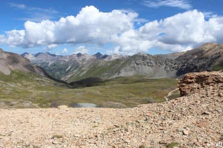 Black Bear Pass summit: 12,840 ft