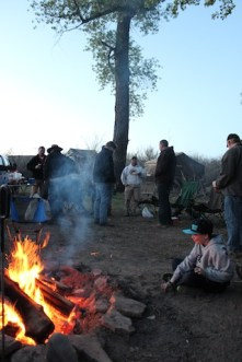 Hanging Around the Campfire