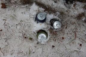 Natural snow cooler