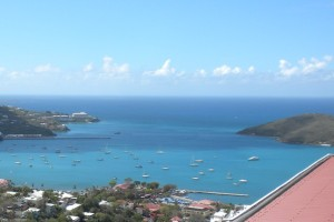 View from a Carribbean Island