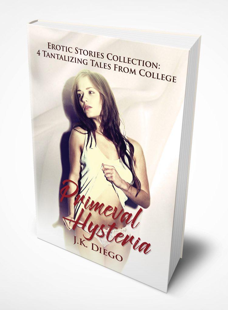 Primeval Hysteria book cover 3D
