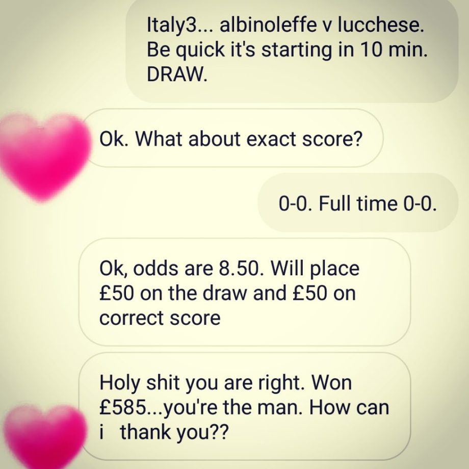 best soccer predictions system