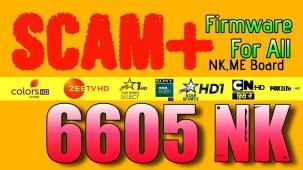 SCAM+ For 6605 nk model