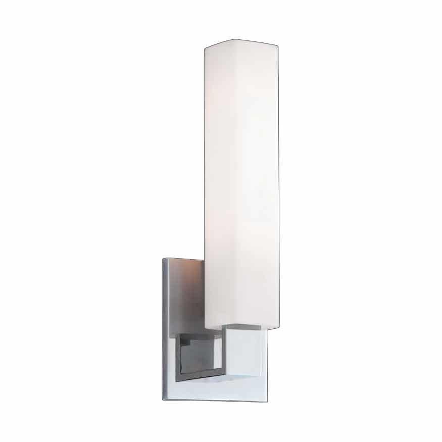 Hudson Valley Livingston 1 Light Bathroom Sconce ... on Height Of Bathroom Sconce Lights id=39570