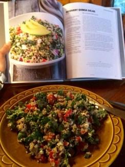 Recovery Quinoa Salad.
