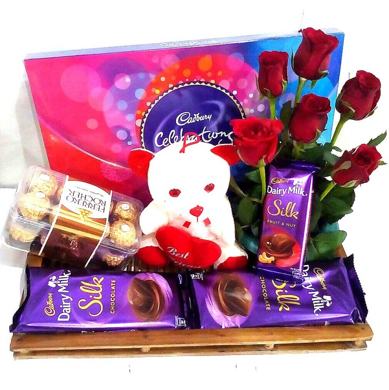 A SPECIAL COMBO A 16 Pcs Ferrero Rocher Imported Swiss