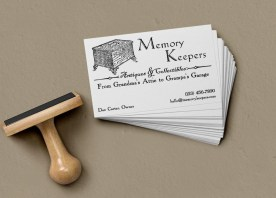 Memory Keepers - Business Card