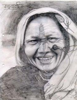 Beautiful Garhawali Lady - 13 June 2003 - Raebareli