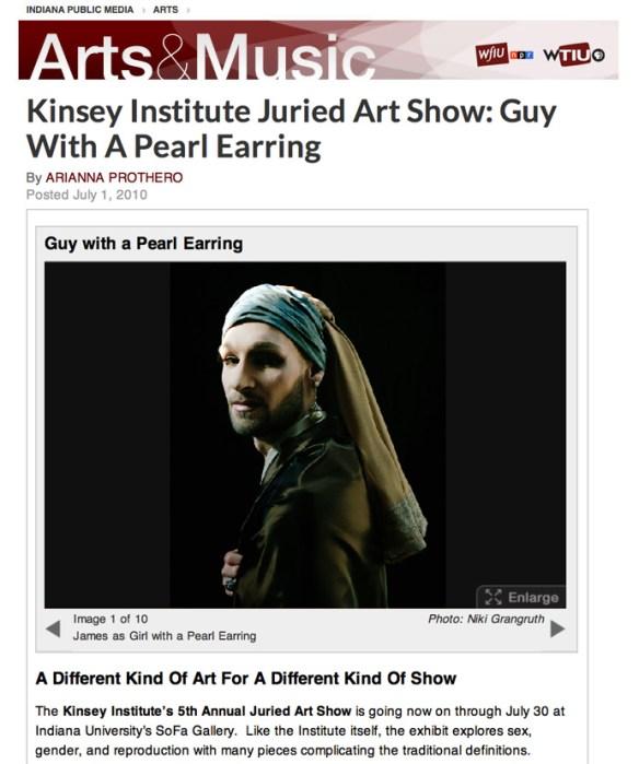 Indiana Public Media: Kinsey Juried Art Show -2010