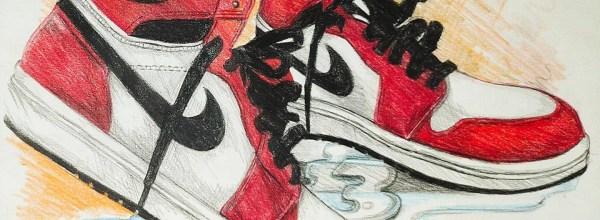 Michael Jordan First NBA Signature Shoes (J1)