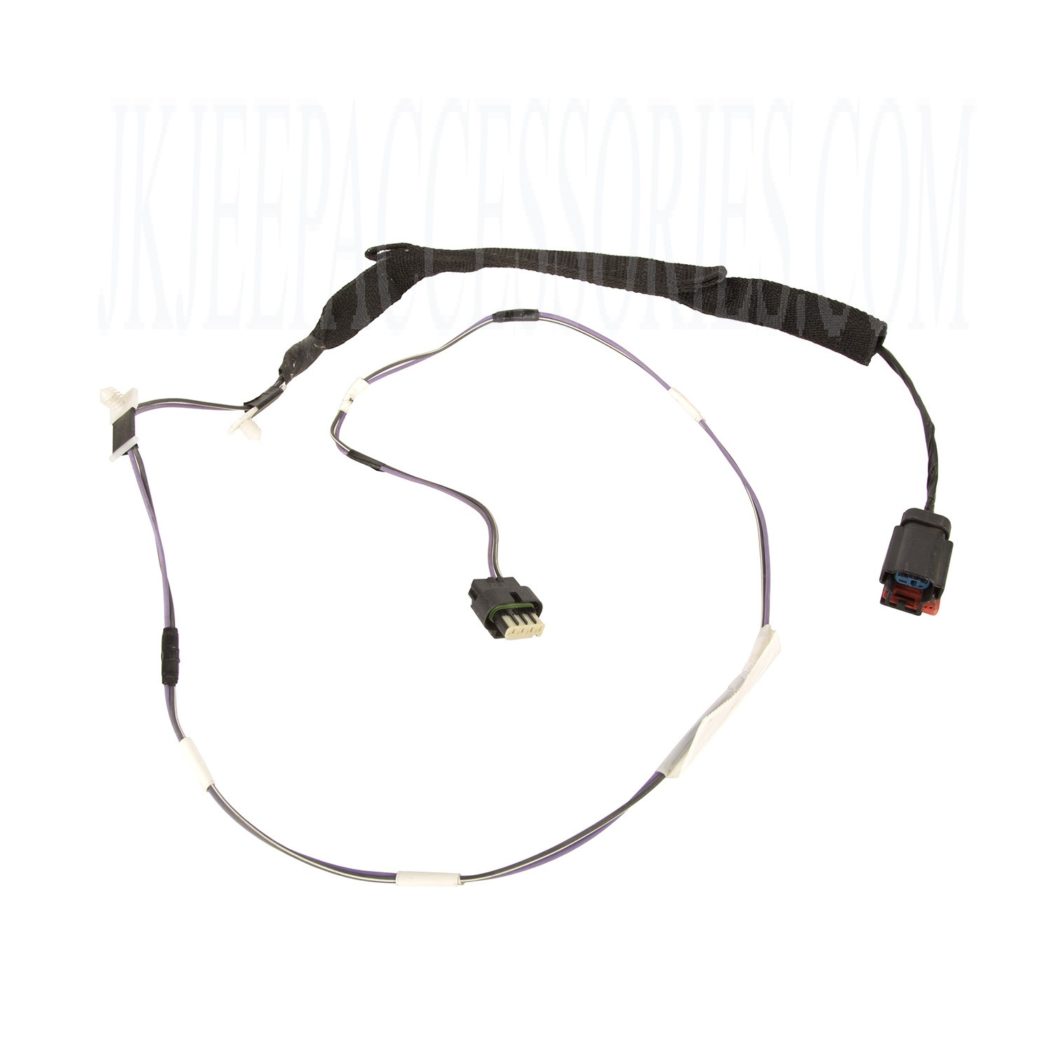 This Front Left Door Wiring Harness From Omix Ada Fits 07