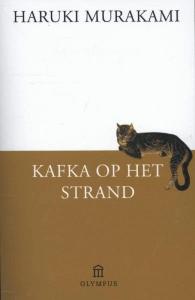 Kafka op het strand Boek omslag