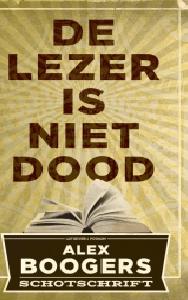 De lezer is niet dood Boek omslag