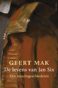 De levens van Jan Six Boek omslag