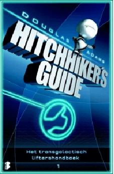 Book Cover: Het transgalactisch liftershandboek
