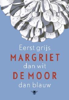 Boek Cover Eerst grijs dan wit dan blauw
