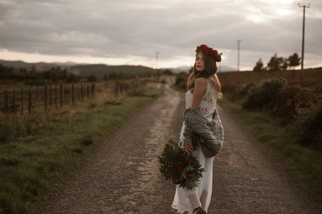 Boho Wedding in Scotland