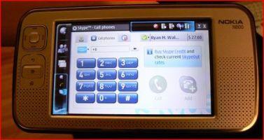 N800 Skype