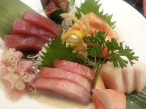 Sashimi from Nippon in Houston