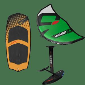 Pack spécial Wing JKS SUPREME CARBONE/ WASP OZONE / FOIL MOSES par jks-kitesurf